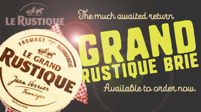 Grand Rustique Brie by Le Rustique