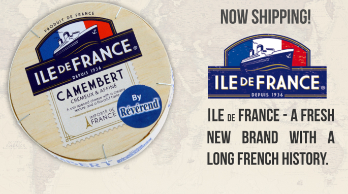 The new Ile de France range by Kirkfood