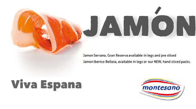 Jamon Iberico and Serrano