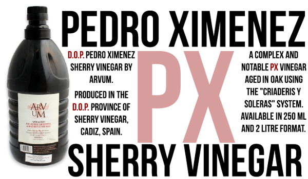 Pedro Xeminiz Vinegar by Arvum