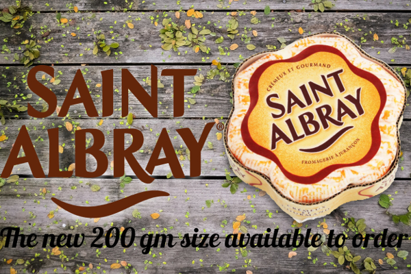 St Albray cheese from France
