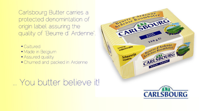Carlsbourg Butter from Belgium