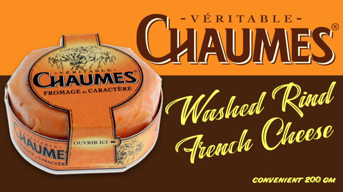 Chaumes washed rind cheese from France