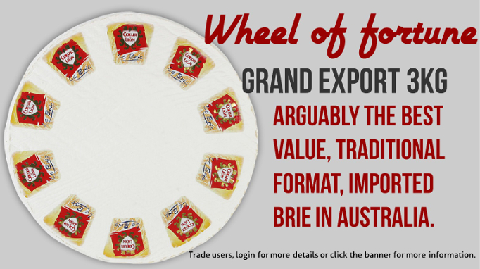 Grand Export Brie - superb quality, excellent value