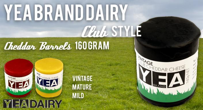 Yea Brand Dairy cheddar